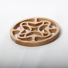 Wooden Trivet on Etsy, $10.99