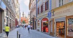Rua Karlova em Praga | República Checa #Praga #República_Checa #europa #viagem