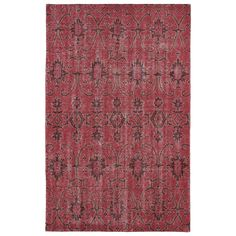 Kaleen Restoration Red Indoor Handcrafted Southwestern Area Rug (Common: 8 x Actual: W x L) at Lowe's. The restoration collection puts the finishing touches on a classic reproduction for some of the most unique rugs in the world. Hand-knotted in India of Kaleen Rugs, Southwestern Area Rugs, Rectangular Rugs, Lowes Home Improvements, Unique Rugs, Throw Rugs, Decoration, Colorful Rugs, Rug Size