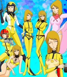 Sci Fi Anime, Mecha Anime, Fantasy Female Warrior, Fantasy Girl, Japanese Superheroes, Female Character Concept, Star Blazers, Cartoon Toys, Old Anime