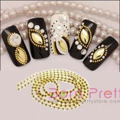 I find an excellent product on @BornPrettyStore, 100cm Charm Gold Beads Line Chain Nail Art De... at $0.99. http://www.bornprettystore.com/-p-1372.html