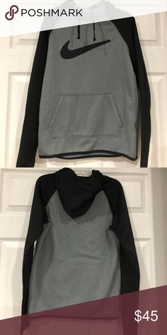 Nike Thema Fit Hoodie Excellent Condition Nike ThermaFit Hoodie with thumb holes Nike Tops Sweatshirts & Hoodies