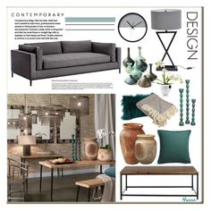 """""""Sin título #1683"""" by mussedechocolate ❤ liked on Polyvore featuring interior, interiors, interior design, home, home decor, interior decorating, Jamie Young, Dot & Bo, Eva Solo and Renwil"""