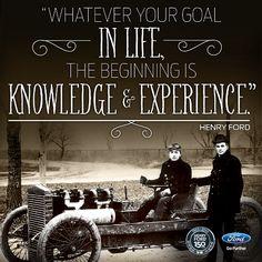 Henry Ford's wisdom...