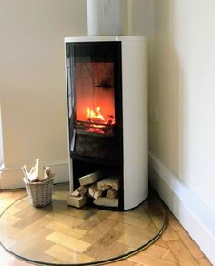 Contura 810G:2 woodburner with glass hearth Stove Installation, New Forest, Stoves, Wood Burning, Hearth, Rv, Home Appliances, Glass, Home Decor