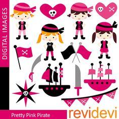 Pretty Pink Pirate