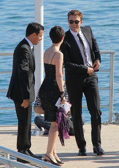 Pattinson. Robert Pattinson.