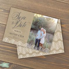 Rustic save the dates!