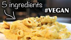 Ridiculously Easy + Yummy 5 INGREDIENT Vegan Pasta Recipe! (butternut squash)  #Butternut #Easy #INGREDIENT