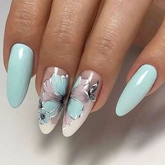 Make an original manicure for Valentine's Day - My Nails Fabulous Nails, Gorgeous Nails, Pretty Nails, Diva Nails, Chic Nails, Flower Nail Designs, Nail Art Designs, Hair And Nails, My Nails