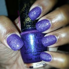 """O.P.I. Liquid Sand in """"Can't Let Go"""" from the Mariah Carey Collection."""