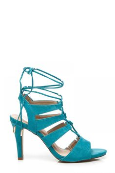 f187bea6a56c Sandal WIĄZANE RZYMIANKI NA OBCASIE Niebieski - Zoki. Size Insole lenght 35  23 cm 36