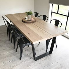 DIY hardwood dining table! 2300mm x 960mm - Thanks to BnB constructions!