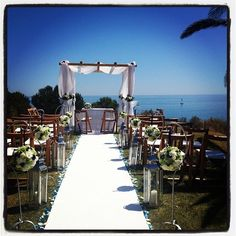 #Algarve wedding set up, check out that sky! http://www.planetweddings.co.uk/portugal.html
