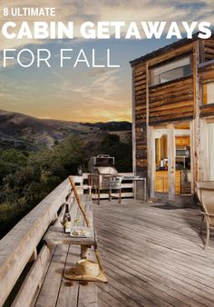 What better way to enjoy fall than by spending a weekend away in a secluded cabin? Here, our favorite rustic retreats and the best cabins to stay in. Secluded Cabin, Getaway Cabins, Weekends Away, Sit Back And Relax, Weekend Getaways, Us Travel, Rustic, Country Primitive, Retro