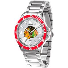 Chicago Blackhawks Key Stainless Watch - Silver - $69.99