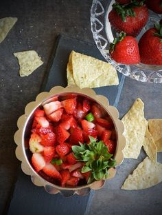 Strawberry lemon salad recipe has to be tried when these cute looking pinky strawberries are in season. Perfect for party and for crowd with step by step pictures and instruction.