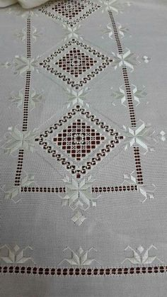Antep work - Diy And Craft Types Of Embroidery, Learn Embroidery, Ribbon Embroidery, Embroidery Patterns Free, Embroidery Designs, Crochet Patterns, Hardanger Embroidery, Cross Stitch Embroidery, Drawn Thread