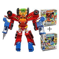 HELLO CARBOT BILDIAN (PROUDJET   STAR BLASTER) Transformer 4 X Copolymer Robot Korea Toy *** Click image for more details.(It is Amazon affiliate link) #90likes