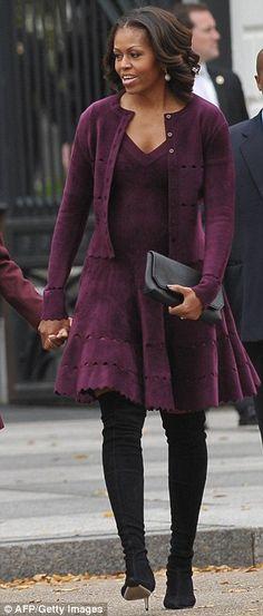 FLOTUS wearing Alaia