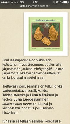 Jouluseimen tarina Dog Food Recipes, Christmas, School, Xmas, Dog Recipes, Navidad, Noel, Natal, Kerst