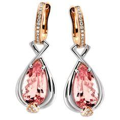 Frederic Sage Morganite Earrings
