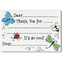 ... to write thank you letter. Help your kid while drafting a letter. More