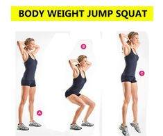 Top 5 Squats Variations for Booty, Legs & Abs – Squats Workout plan Squats variations: Start your exercise with body weight jump squat. Slim Legs Workout, Basic Workout, Squat Workout, Workout Warm Up, Body Squats, Jump Squats, Benefits Of Squats, Squat Variations, Weighted Squats