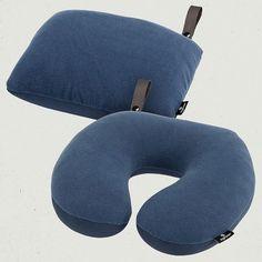 2 in 1 Travel Pillow Slate Blue Eagle Creek