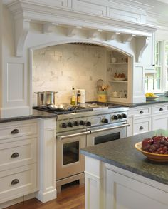 Love the custom cabinetry
