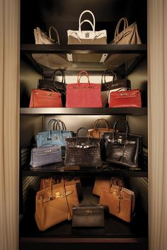 "the ""Birkin Closet"" in the Singapore house...I don't even know what to say"