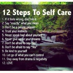 12step to self care