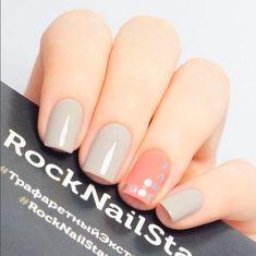 Nails of the Season; Keeping it Light - Hubb Perfect Nails, Gorgeous Nails, Pretty Nails, Rock Nails, Fun Nails, Shellac Manicure, Manicure Ideas, Nail Candy, Neutral Nails