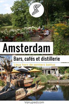 Bars, cafés et distilleries à Amsterdam : Insolites, sympas et à ne pas rater ! Guide Amsterdam, Cafe Bar, Wood, Black Picture, Pathways, Black N White, Originals, Woodwind Instrument, Timber Wood