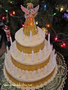 Christmas Lights Cake