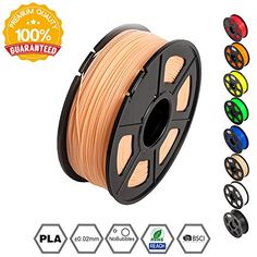 1.75mm Light Blue Pla 3d Printer Filament 2.2 Lbs Relieving Heat And Thirst. 1kg Spool - Dimensional..
