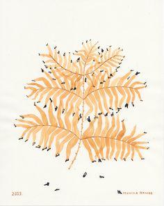 """Hybrid No. 1"" My piece inJust Plants, an international group exhibition in Copenhagen.  Monica Tramos."