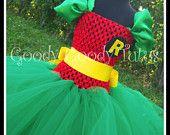 ROCKIN ROBIN Batman and Robin halloween costume makin for the princess this year!