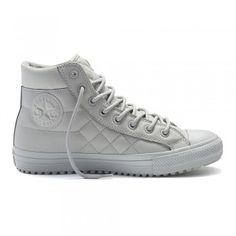 f0d099fb1d2f Converse Chuck Taylor All Star Herren Sneaker Boot PC Hi Ash Grey  Black  (grau)