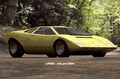 Lamborghini LP500.