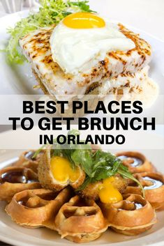Brunch time is the best time. Wake up for that traditionally weekend meal - it's worth it at these Orlando-area restaurants.