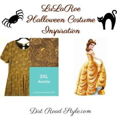 Belle LuLaRoe Costume Inspiration