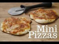 """This recipe isn't technically mine, but I've made it super easy to make two single serve (or one """"personal pan"""" size) pizzas. That way, you [...]"""