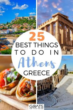 Heading to Greece? Make sure to check out this guide to help you plan your Greek islands itinerary! Here are the 25 best things to do in Athens, Greece that you won't want to miss! From visiting Acropolis to taking a day trip to Hydra, to visit the Museum of Cycladic Art, and more! | #beautifulplaces #travel #greecetravel Backpacking Europe, Europe Travel Tips, Travel Guides, European Vacation, European Travel, Amazing Destinations, Travel Destinations, France, Athens Greece