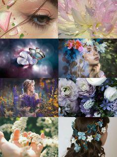 "Mythical Aesthetics // Flower Faerie ""Request "" Elf | Mermaid | Dragon | Unicorn | Cryptozoology"