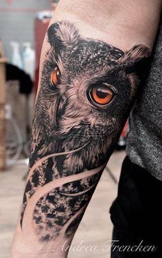 Owl Tattoo..