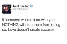 Love doesn't creat excuses #RehabTime #EverythingStartsWithYou