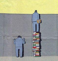 quem lê, ve mais longe...