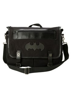 DC Comics Batman Mono Messenger Bag,