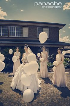 Love this Balloon idea!!! Neutral Toned Bridesmaids Dresses | Adelaide #PanachePhotography  #weddings #ecru #beige #neutral #bridal #balloon #whiteballoon #adelaideweddings #adelaide #inspiration #wedding #weddinginspiration #adelaideweddingphotographers #weddingphotographyadelaide #bridesmaids #dresses #white #bridesmaid #Australia #beauty Adelaide Wedding Photography - Wedding Photography Adelaide - Adelaide Wedding Photographers - Panache Photography - Australian Wedding